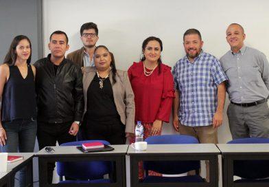 Reunión de trabajo con académicos de la Universidad Autónoma de Aguascalientes
